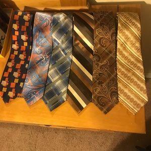 Stacy Adams men's tie set of 6